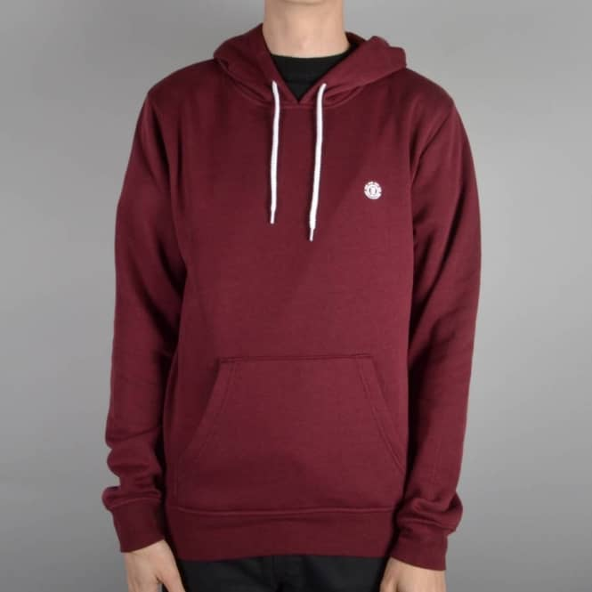 Element Skateboards Grime Pullover Hoodie - Wine