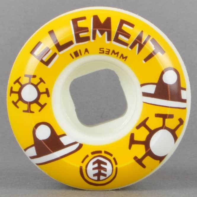 Element Skateboards Los Amigos Wides Skateboard Wheels 53mm