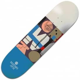 Element Skateboards Madars Quilted Featherlight Skateboard Deck 8.0""