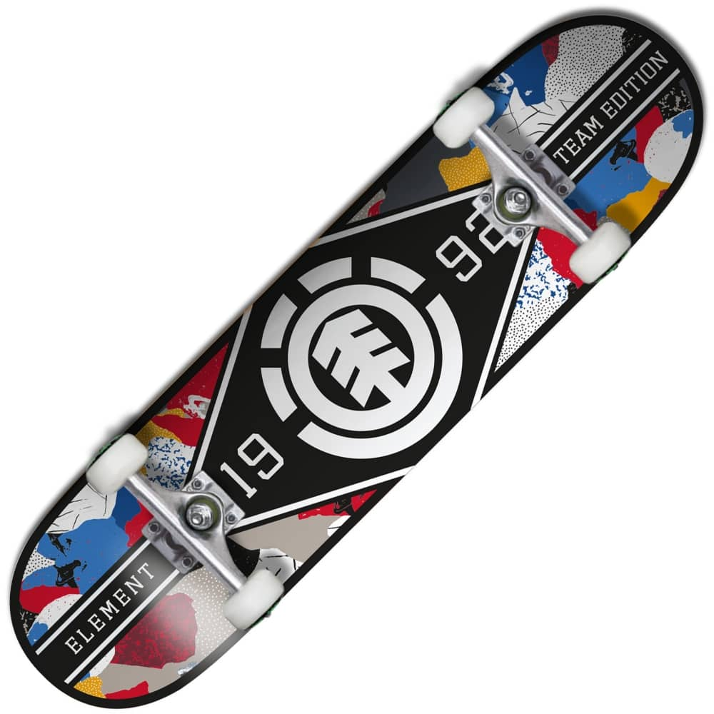 14e6f88a45 Element Skateboards Element Skateboards Major League Cut Out Complete  Skateboard 8.0