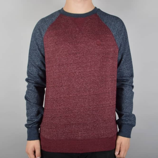 Element Skateboards Meridian Crewneck Sweater - Eclipse Navy