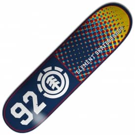 Element Skateboards Mic 92 Dotted Featherlight Skateboard Deck 8.0""