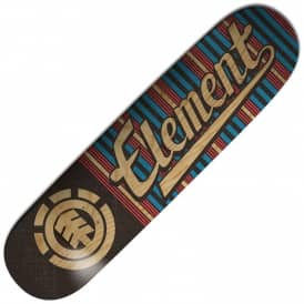 Element Skateboards Mic First Phase Script Featherlight Skateboard Deck 7.75""