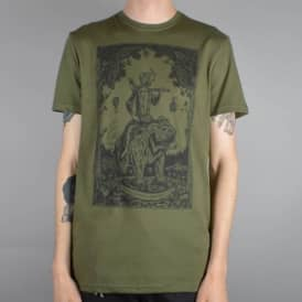 Element Skateboards Morning Commute Skate T-Shirt - Military Green