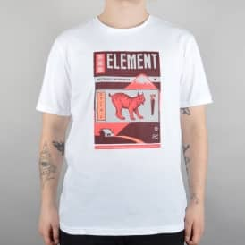 Element Skateboards Mizu Skate T-Shirt - Optic White