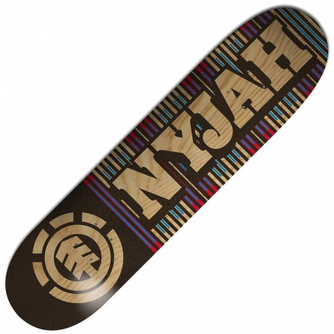 Element Skateboards Nyjah First Phase Featherlight Skateboard Deck 8.0