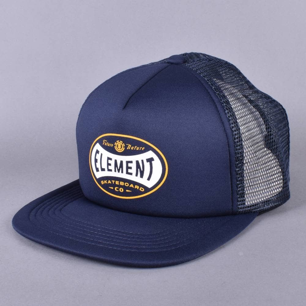 Element Skateboards Rift Trucker Cap - Eclipse Navy - SKATE CLOTHING ... 66619e0f356f