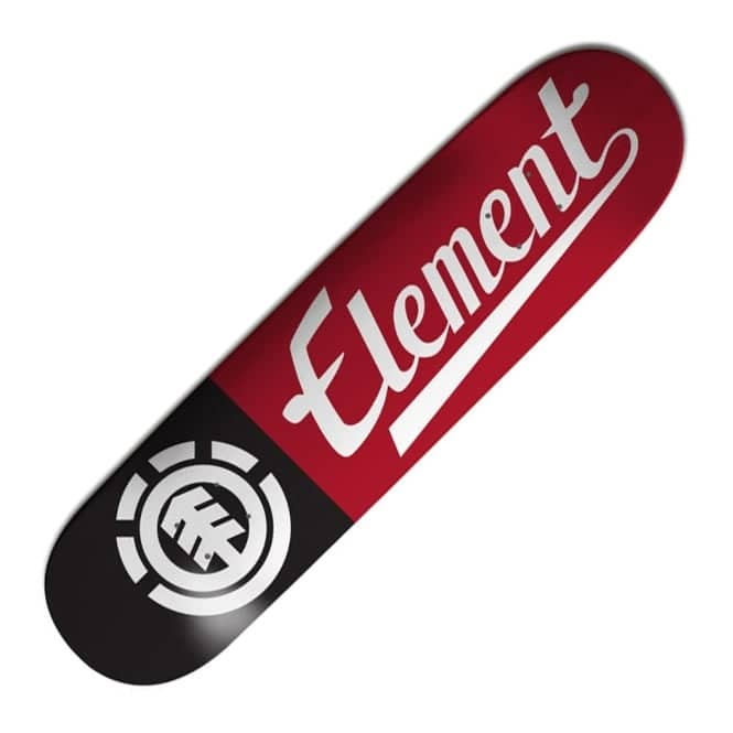 Element Skateboards Script Thriftwood Skateboard Deck 8.25