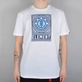 Element Skateboards Spirograph Skate T-Shirt - White