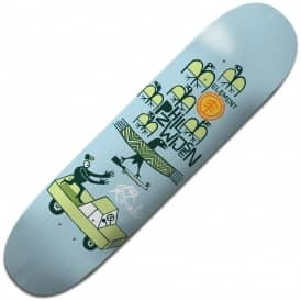Elvira FTA Zwijsen Featherlight Skateboard Deck 8.3125