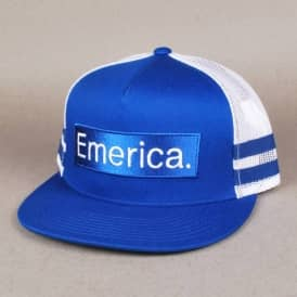 Emerica Bad Hoods Trucker Cap - Royal Blue