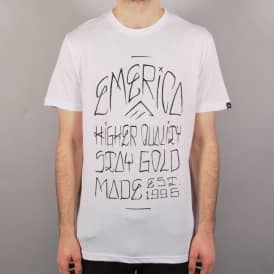 Emerica Hermano Skate T-Shirt - White