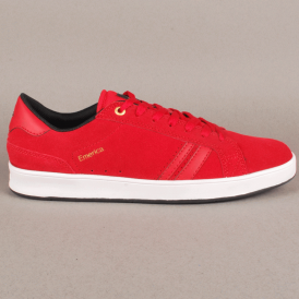 Emerica The Leo 2 Skate Shoes - Red
