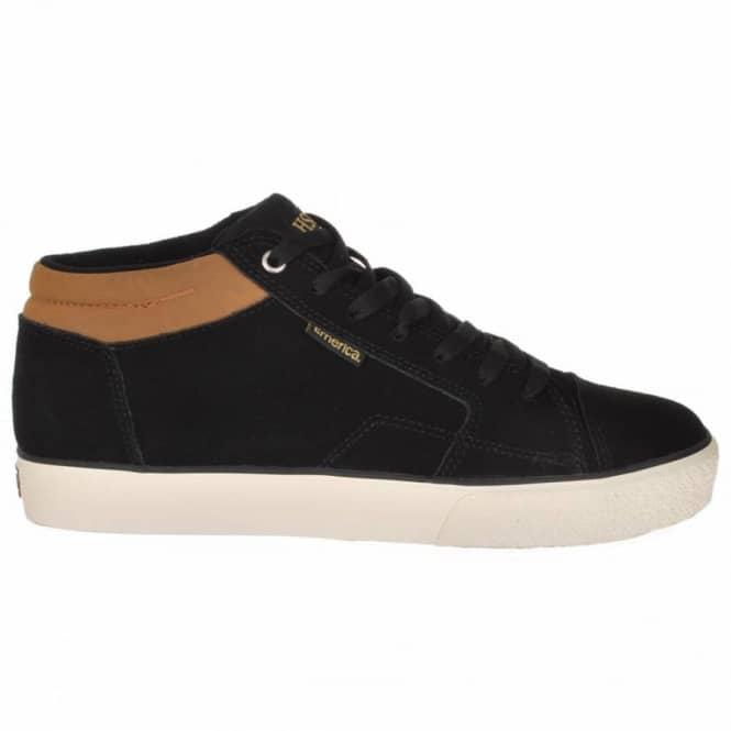 cffbb52317 Emerica Hsu 2 Black Brown Skate Shoes - Mens Skate Shoes from Native ...