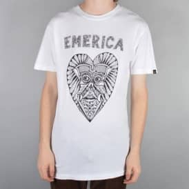 Emerica Kevin Long 2 Skate T-Shirt - White