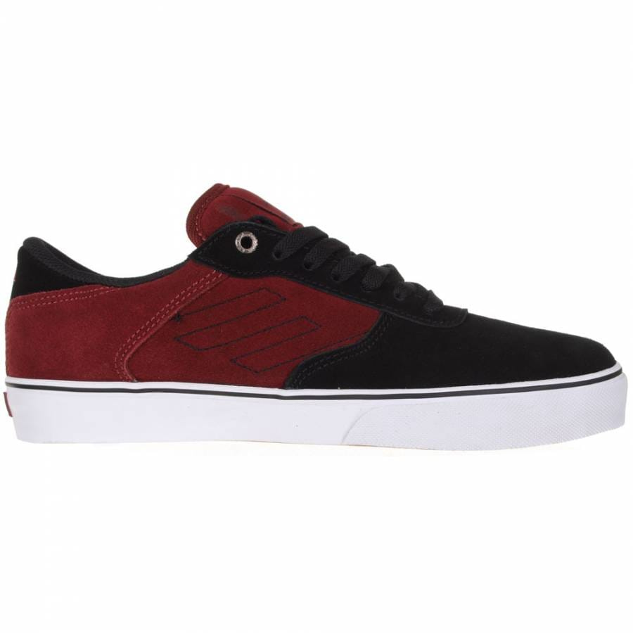 emerica emerica liverpool skate shoes maroon black