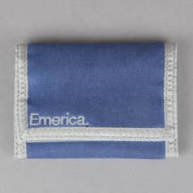 Emerica Pure Tri-Fold Wallet - Blue