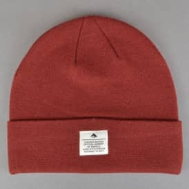 Emerica Standard Issue Skate Beanie - Oxblood