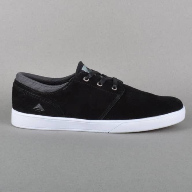 Emerica The Figueroa Skate Shoes - Black/White/White