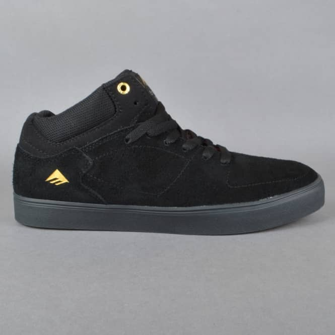 Emerica The Hsu G6 Skate Shoes - Black/Black