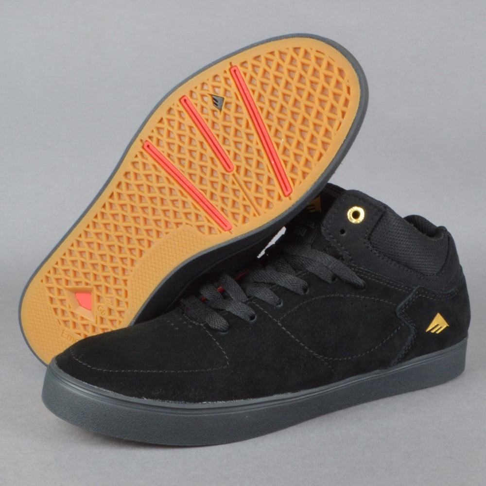 The Hsu G6 Skate Shoes - Black/Black