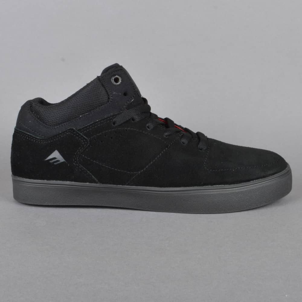 emerica the hsu g6 skate shoes black dark grey skate shoes from