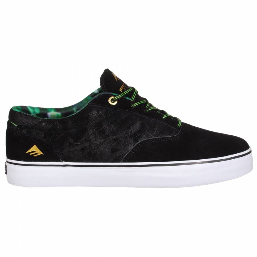 Emerica Mens Black Shoes