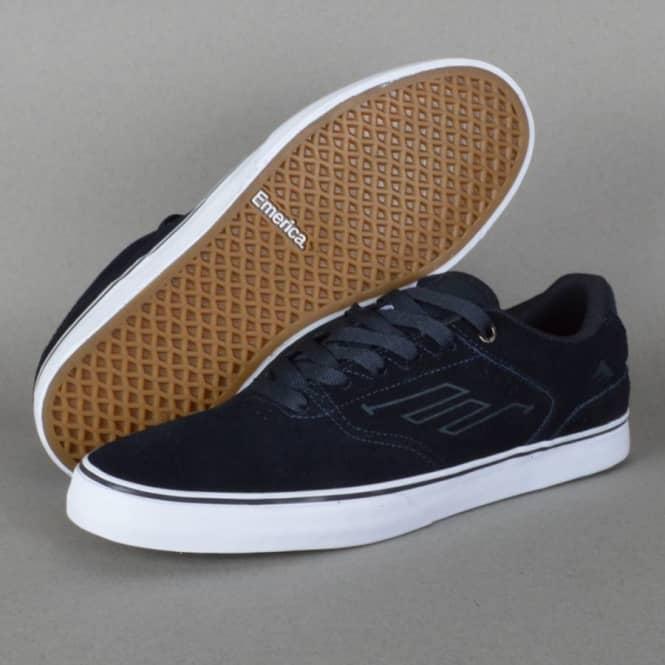 d671bacd0399 Emerica The Reynolds Low Vulc Skate Shoes - Navy White Gum - SKATE ...