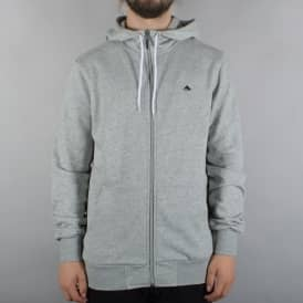 Triangle 2 Zip Hoodie - Grey/Black