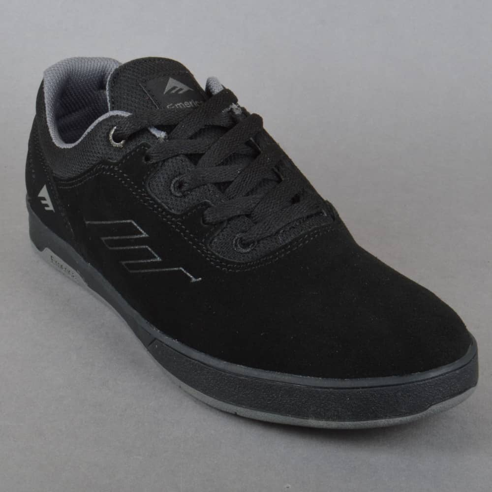 emerica skate shoes. westgate cc skate shoes - black/grey/grey emerica u