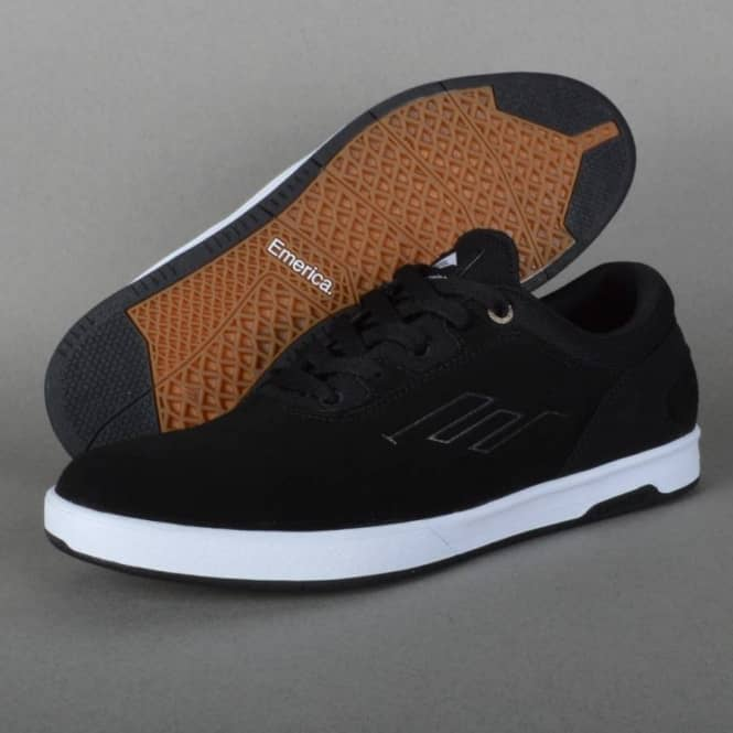 Westgate CC Skate Shoes - Black/White