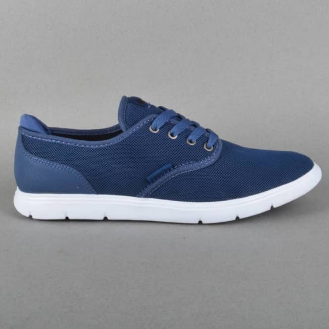 Emerica The Wino Cruiser LT Skate Shoes - Blue/White