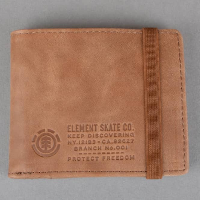 Element Skateboards Endure Wallet - Brown