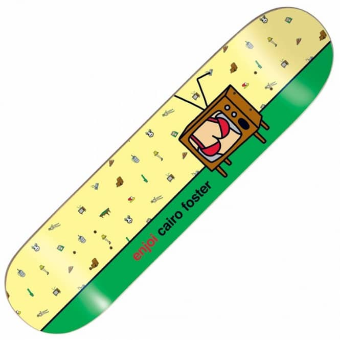 Enjoi Skateboards Enjoi Cairo Foster Mancave Skateboard Deck 8.25''
