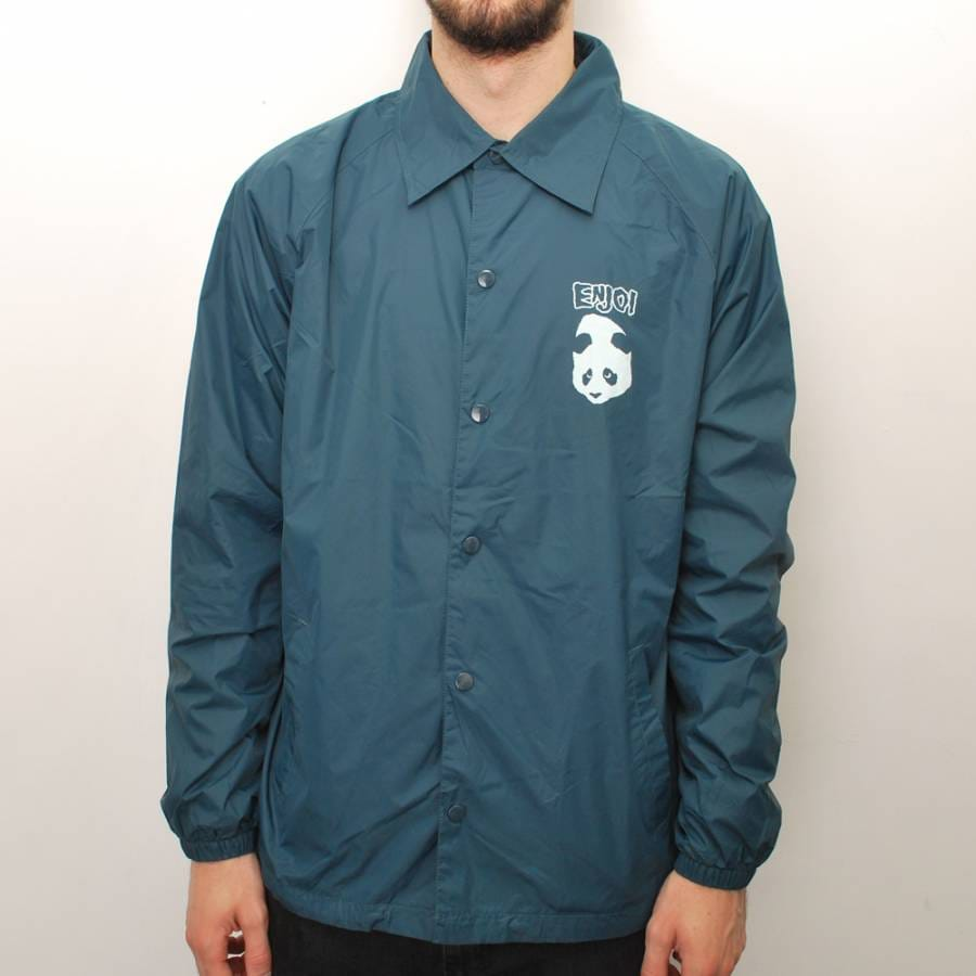 Enjoi skateboards enjoi joepa coach jacket turquoise for Coach jacket