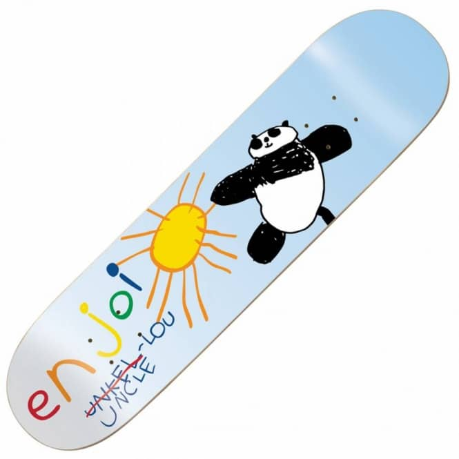Enjoi Skateboards Barletta Uncle Lou Skateboard Deck 8.25''