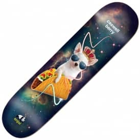 Enjoi Skateboards Caswell Berry Snack Surfer V2 Impact Light Skateboard Deck 8.0""