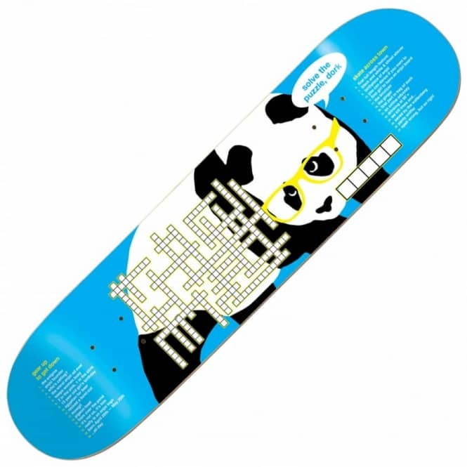 Enjoi Skateboards Crossword Skateboard Deck 8.25