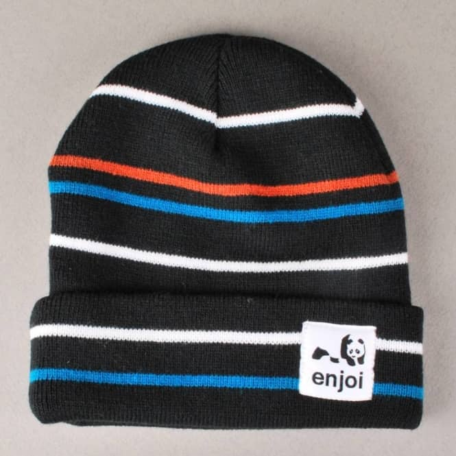Enjoi Skateboards Enjoi Hairline Receder Beanie - Black