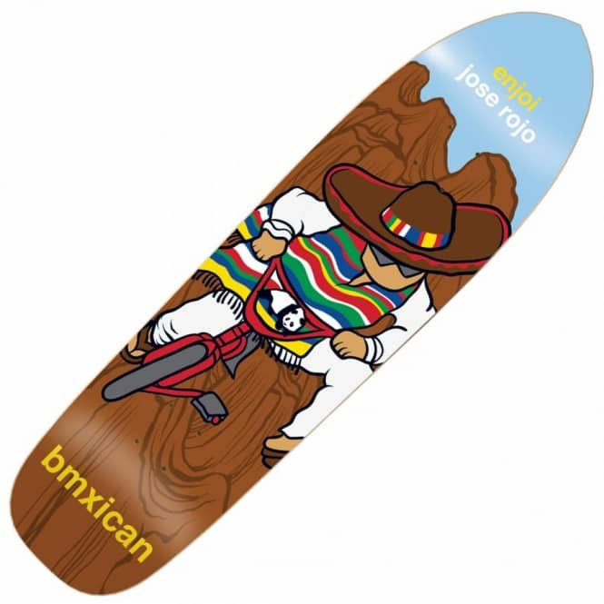 Enjoi Skateboards Enjoi Jose Rojo Bmxican Skateboard Deck 8.5''