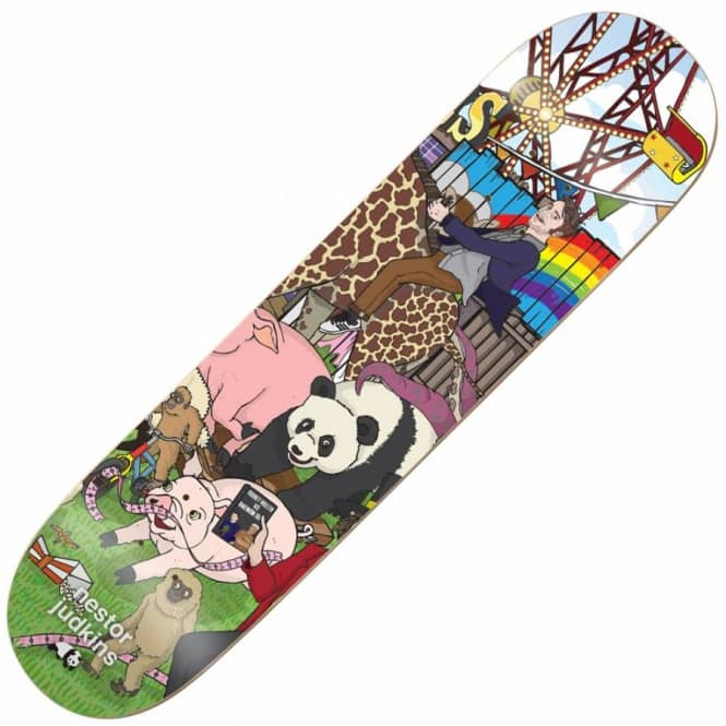Enjoi Skateboards Enjoi Nestor Judkins Carnival Skateboard Deck 8.25''