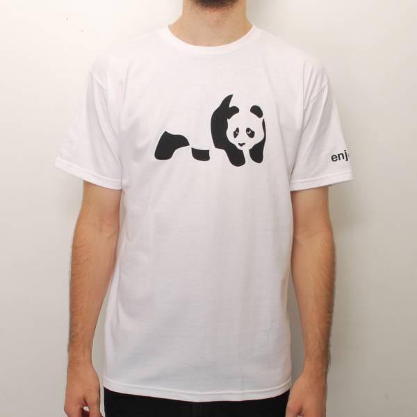 Enjoi Panda Skate T-Shirt - White