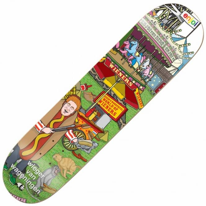 Enjoi Skateboards Enjoi Wieger Carnival Skateboard Deck 7.75''