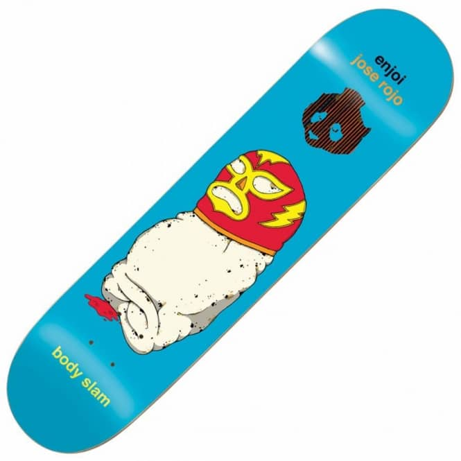 Enjoi Skateboards Jose Rojo Body Slam Impact Support Skateboard deck 8.0