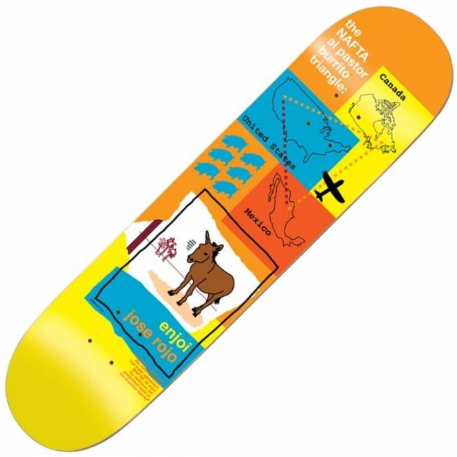 Enjoi Skateboards Jose Rojo Donkey Skateboard Deck 8.375