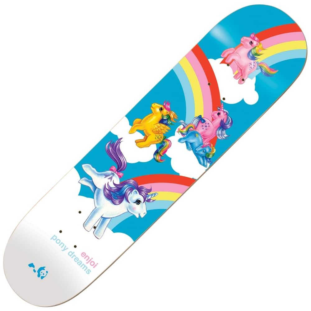 Enjoi Skateboards Enjoi Skateboards My Little Pony Dreams Skateboard Deck  8.125
