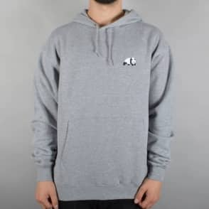 Enjoi Skateboards Panda Logo Pullover Hoodie - Heather Grey