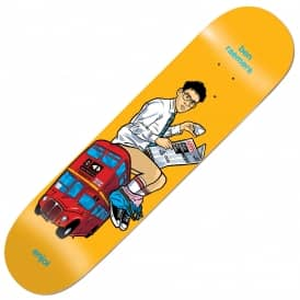 Enjoi Skateboards Raemers Upper Decker Bus Skateboard Deck 8.25""