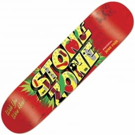 Rojo Welcome To Skateboard Deck 8.0