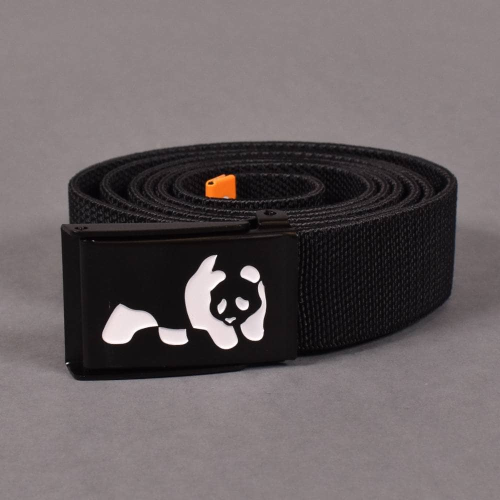 Enjoi Panda Belt Buckle Bottle Opener Adjustable Web Belt